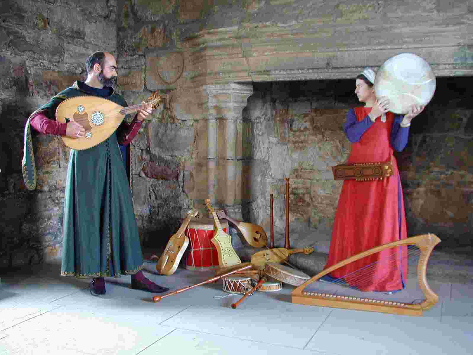 specialist medieval music